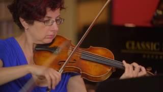 Schubert: String Quintet in C Maj, D. 956: III. Scherzo (excerpt)   Girsky Quartet wth Andrew Cook