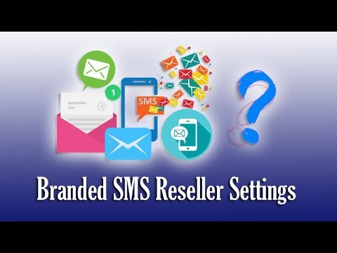 SMS Reseller Settings