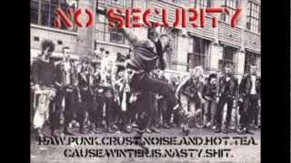 Chaos UK-No security w/lyrics