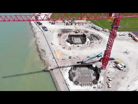 2020 Gordie Howe International Bridge | Construction Update 2020