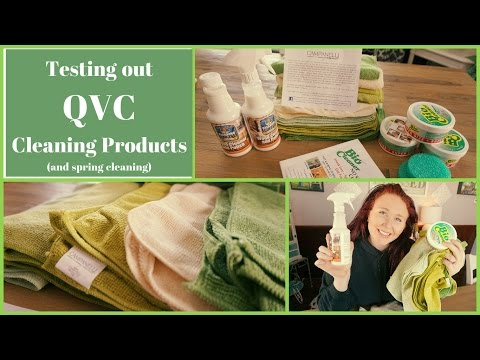 QVC Cleaning Products Reviews + A Quick Spring Clean!
