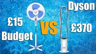 Dyson AM07 Unboxing / Setup / Schallpegeltests gegen Budget Fan