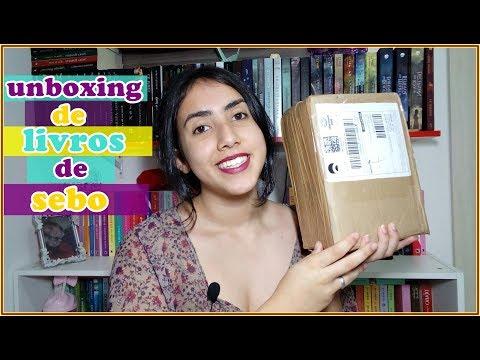 UNBOXING | LIVROS DE SEBO | Leticia Ferfer | Livro Livro Meu