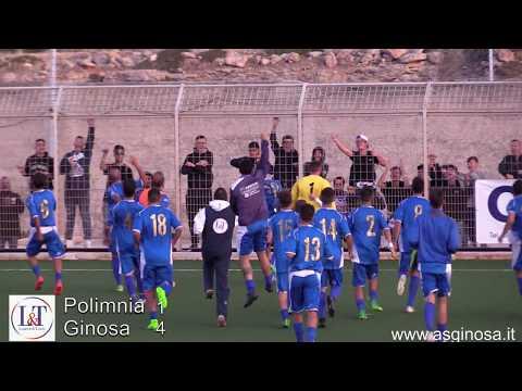 Preview video POLIMNIA-GINOSA 1-4 Un primo tempo stratosferico regala al Ginosa la quarta vittoria tn trasferta