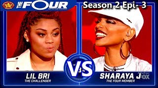 "Sharaya J vs Lil Bri  Female Rappers Battle ""Stir Fry"" The Four Season 2 Ep. 3 S2E3"