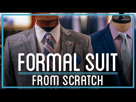 How to Make a Formal Suit from Scratch | HTME: Remix