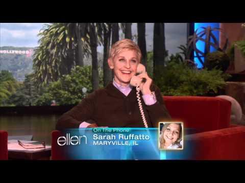 Ellen Calls a Cardinals Fan