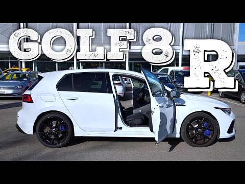 New Volkswagen Golf 8 R 2021 Review Interior Exterior