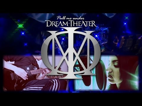 Dream Theater - Pull me under (Vocal, Full Guitar Cover) performed by Mystoguns ! [HD]