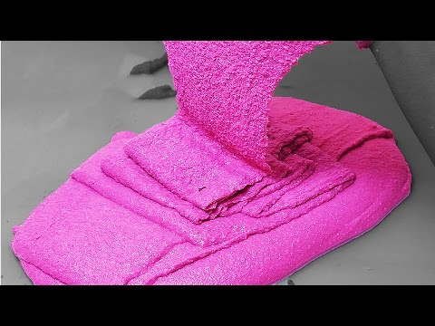 DIY: Fun and Creative Kinetic Sand Silly Putty with Cornstarch, *NO BORAX!* SUPER SATISFYING! !