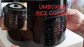 UNBOXING RICE COOKER amazon cute one  yummy asia rice cooker