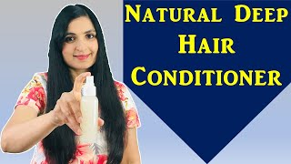 Homemade Leave In Hair Conditioner | Get Silky Smooth Glossy Hair | Treat Dry Damaged Frizzy Hair