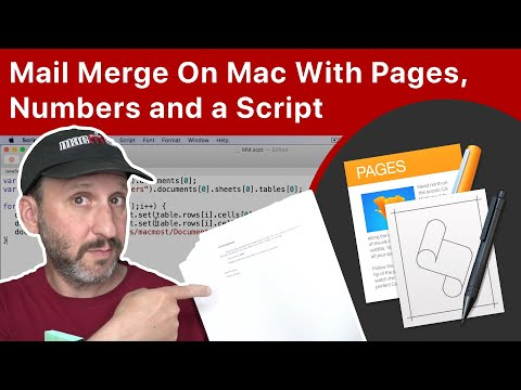 How To Mail Merge On Mac With Pages, Numbers and a Simple Script