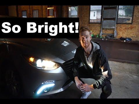 How to LED Tube Retrofitted Headlights