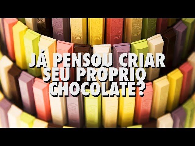Já pensou criar seu próprio chocolate? Conheça a loja da Kit Kat