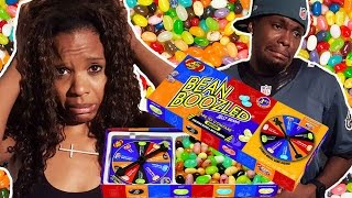 IT HURTS WHEN I TASTE IT! - Funny Bean Boozled Challenge