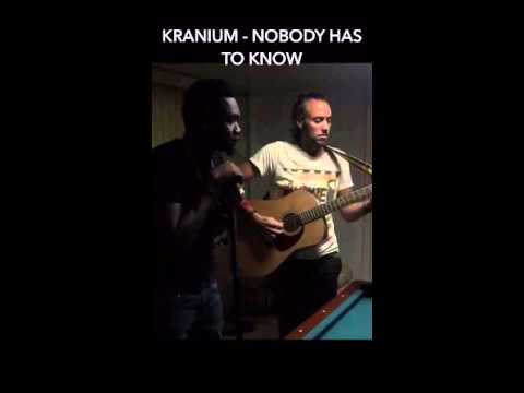 KRANIUM & TONY BONE - Nobody Has To Know Acoustic Unplugged Rehearsal @ LMR Studio