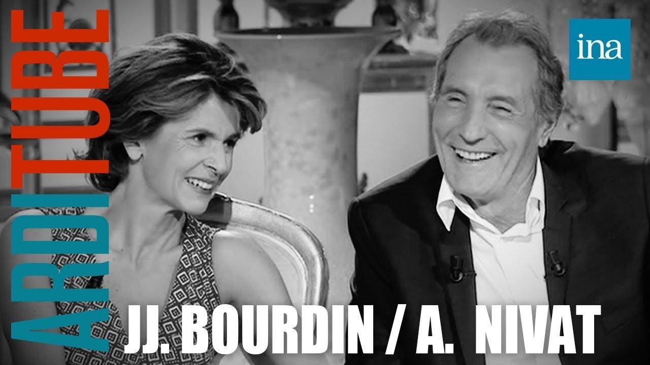 Jean-Jacques Bourdin et Anne Nivat parlent de leur couple chez Thierry Ardisson   INA Arditube
