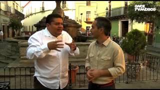 La ruta del sabor - Crema de chile guajillo y Filete con verduras. Guanajuato, Gto.