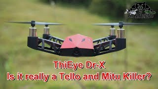 Watch this before you buy ThiEye Dr-X WiFi FPV Camera Quadcopter
