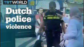 Dutch Police Officer Hits Muslim Woman