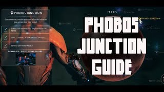 warframe Phobos Junction guide 2019 | Scan Cephalon Fragments