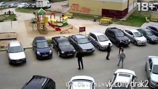 драка водителей в сургуте