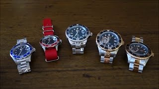 Invicta Pro Diver Grand Review (feat. models 9094, 9403, 18160, 13708, 15415) - Perth WAtch #19