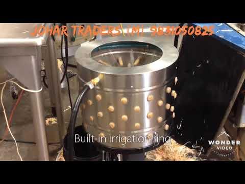 Chicken De Feathering Plucker Machine