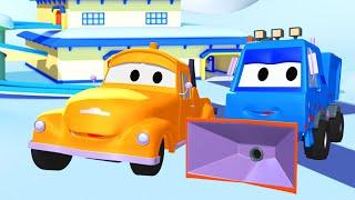 Odtahové auto pro děti - Sněžný pluh