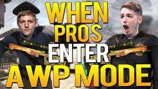 CS:GO - WHEN PRO PLAYERS ENTER AWP MODE!(CRAZY FLICKS)