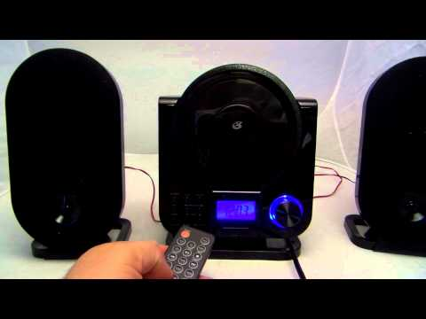 GPX HC208B home stereo shelf system for sale on Ebay!