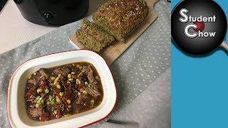Chilli Con Carne and Zucchini Bread