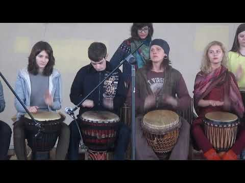 Paf83 - Зеленый остров Александр Юрков школа  Drum'n'pipe 17 мая 2015г