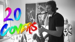 20 Saxophone Covers of Popular Songs (Summer 2017)