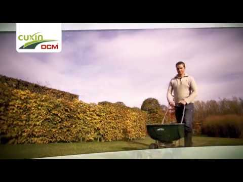 Tiefgrüner Rasen auch im Herbst und Winter