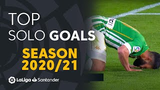 TOP 10 SOLO GOALS LaLiga Santander 2020/2021
