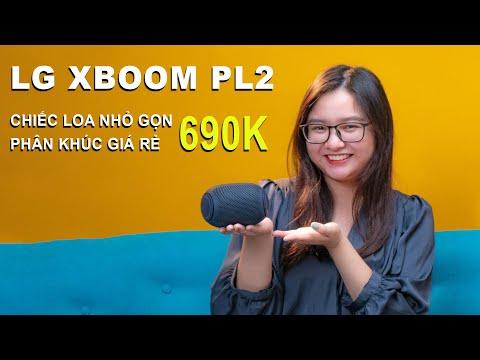 LG XBOOM PL2 - LOA NHỎ, GIÁ RẺ, CHẤT LƯỢNG KHÔNG NGỜ!!!
