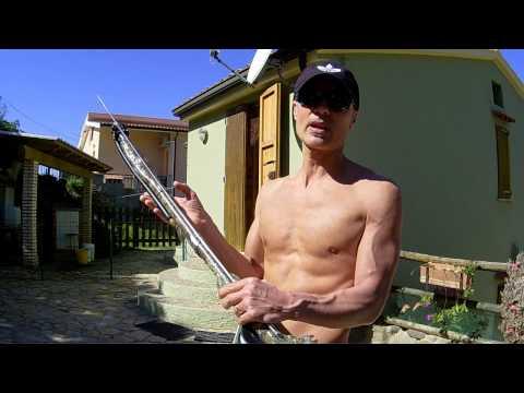 Video che pesca su un vileyka