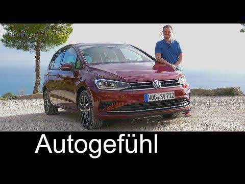 Volkswagen Golf SV - VW Sportsvan FULL REVIEW Facelift 2018 - Autogefühl