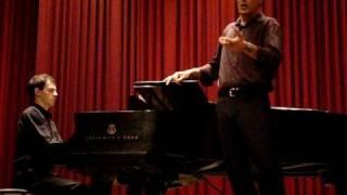 Le Secret - G. Fauré - barítono Ricardo Caldas