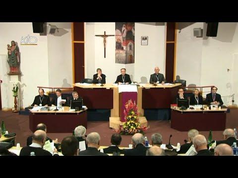 Assemblée des évêques - Séance d'ouverture (printemps 2015)