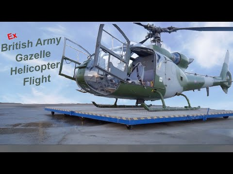 Army Gazelle Helicopter Flight!!!