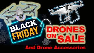 Black Friday Drones and Accessories On Sale! Autel, DJI, Hubsan, BetaFPV, iFlight and More