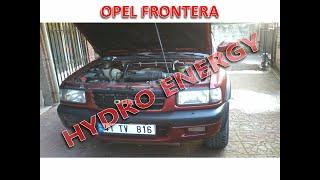 Opel Frontera dizel hidrojen yakıt sistem montajı
