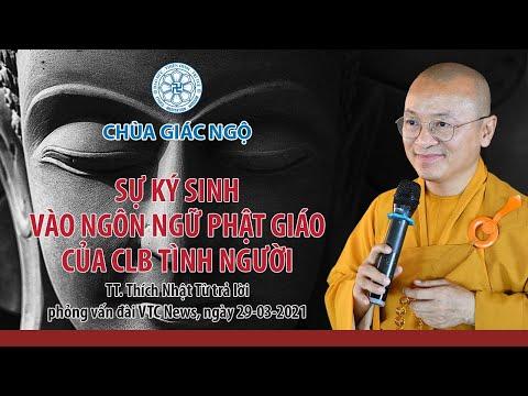 Sự ký sinh vào ngôn ngữ Phật giáo của CLB Tình người