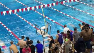 Metropolitan Swimming Championships Rutgers University 2/19/2017 Mens 200 Butterfly Heat 2