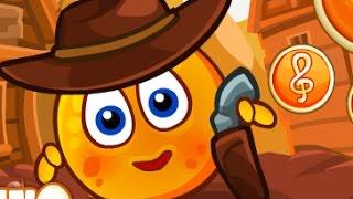 Мультфильм для маленьких детей . Апельсин на диком западе.  Развивающий мультик для детей .