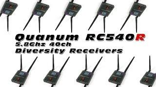 Quanum RC540R 5.8Ghz Dual Diversity FPV Receivers - Quick Review