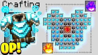 How to Craft a $1,000 GOD Chestplate! - Minecraft 1.14 Crafting Recipe